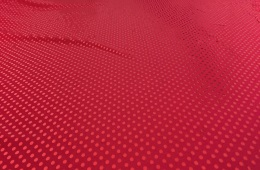 Jersey elasthanne paillettes rouge