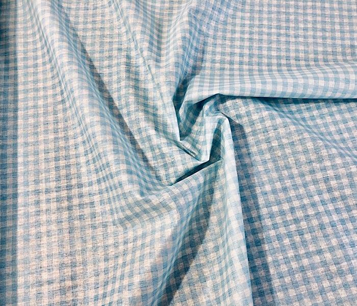 """Demi-mètre ORANGE 1/"""" Large Carreaux Vichy 100/% Coton Large 60/"""""""