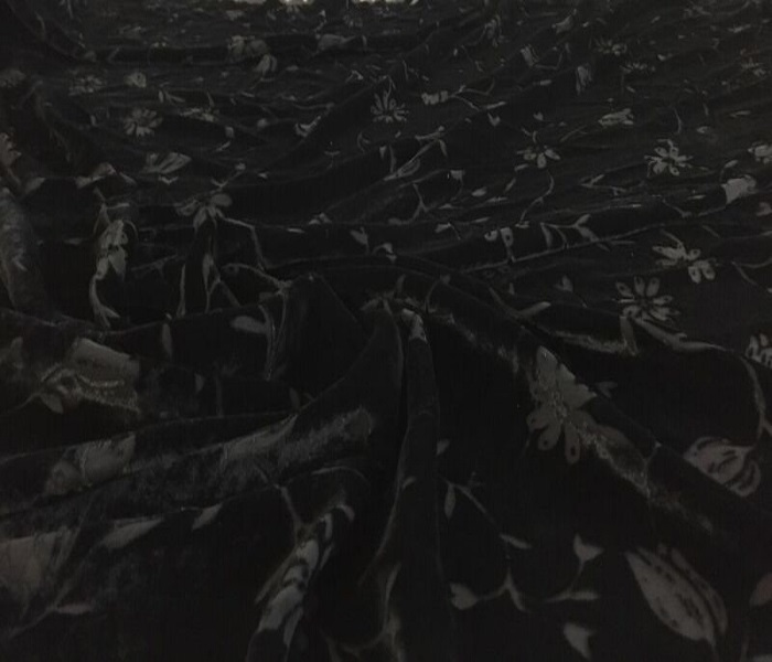 Velours d vor au m tre tissus pas cher planete tissus - Cafe velours noir pas cher ...