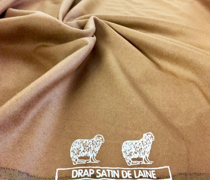 Tissu drap de laine au m tre chez plan te tissus - Tissu pour drap ...